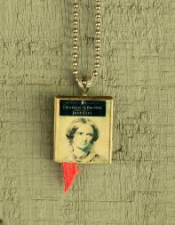 Jane Eyre book charm