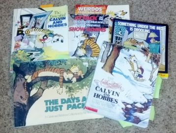 Our Calvin and Hobbes collection