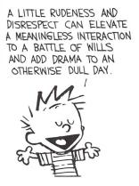 Calvin (rudeness/drama strip)