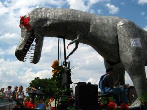 T-Rex Art Car