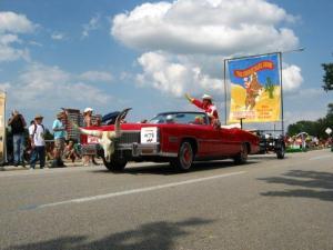 Cowboy Show Art Car