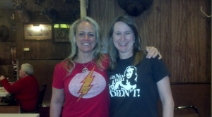 Kristen Lamb (one of my favorite panel experts) & Me