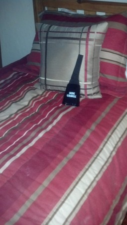 Cowbell on Ranch bed