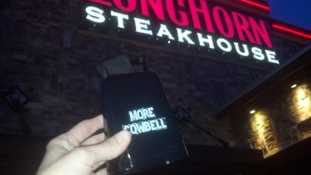 Cowbell at Longhorn Steakhouse