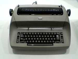 Selectric typewriter