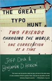 The Great Typo Hunt book cover