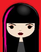 Girl illustrated
