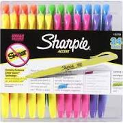 Sharpie Accent Highlighters - 24 pack, colored