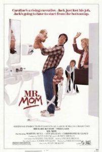 """Mr. Mom"" movie poster"