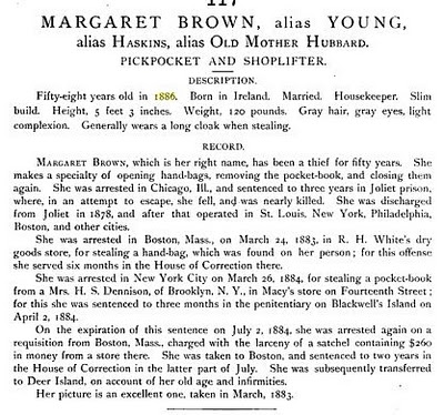 Article re Margaret Brown