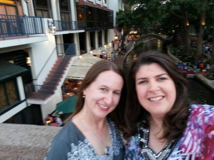 Diana and Me on Riverwalk