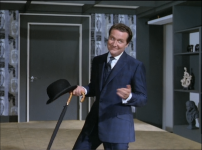 John Steed & umbrella from The Avengers