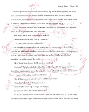 """An edited (""""Margie-ized"""") page from Immersion"""