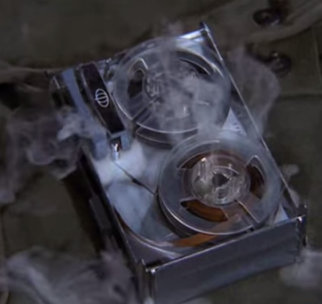 Mission Impossible -- smoking tape player