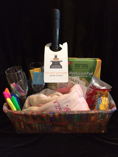 Writer's Deadline Gift Basket