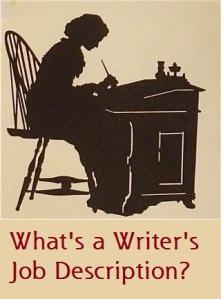 Writer Job Description